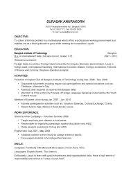 simple curriculum vitae for student basic resume form best basic resume format ideas on resume writing