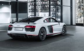 audi celebrates racing victories with limited run r8 v10 plus