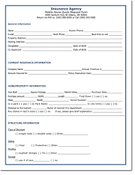 Insurance Quote Sheet Template Quotation Templates Free Quotes For Word Excel And Pdf