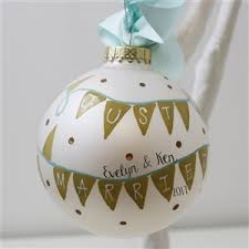 personalised wedding ornaments personalised ornaments for
