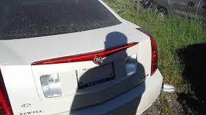 cadillac cts third brake light 2005 cadillac cts rear finish panel