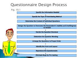 questionnaire design questionnaire