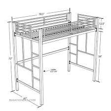 Bunk Beds Metal Frame Metal Frame Bunk Bed With Desk Beautiful Metal Bunk Beds With Desk