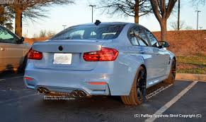 Bmw M3 Back - f80 bmw m3 yas marina blue spotted on u s roads