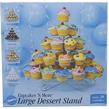 Wilton Cupcake Decorating Wilton Cupcakes N U0027 More Large Dessert Stand 38 Ct Walmart Com