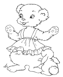 teddy bear colouring pages coloring home