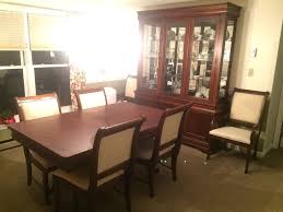 broyhill maison lenoir dining room set with extras