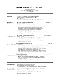 Ceo Resume Template Resume Template Student College Real Free Resume Examples