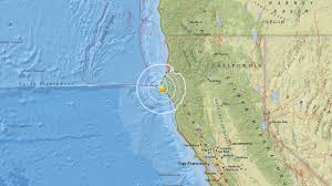 Northern Oregon Coast Map by 4 2 Magnitude Earthquake Strikes Off Northern California Coast