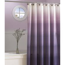 Purple And White Curtains Gorgeous Purple And Green Shower Curtain For Your Updated Bathroom