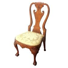 queen anne style furniture side chair queen anne chairs ebay