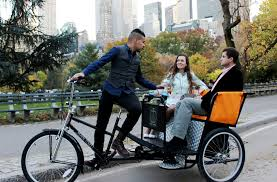 philippine pedicab park experience on pedicab with taste of best nyc pizza or