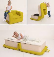 flip flop chair this chair flips into a bed neatorama