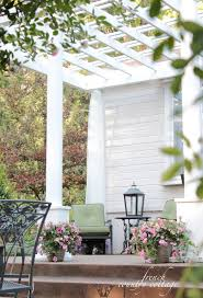 Patio Trellis Ideas Adding Character Front Porch Pergola French Country Cottage