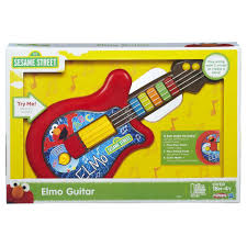 Kitchen Set Toys Box Playskool Sesame Street Elmo Guitar Toy Toys