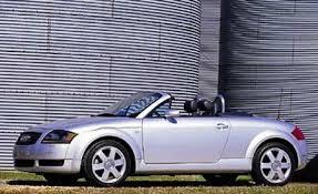 2001 audi tt quattro review 2001 audi tt roadster take road test reviews car and