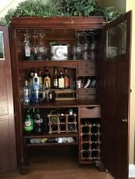 Bar Hutch 15 Hutch Update Corner Hutch Hutch Cabinet And Hutch Makeover