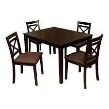 Espresso Dining Room Furniture Venetian Worldwide Weston I 5 Piece Espresso Dining Set Cm3400t