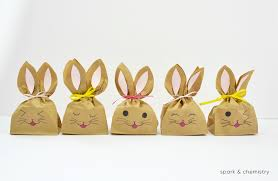 easter easter bunny how to make easter bunny treat bags