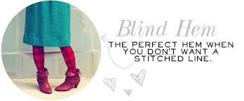 What Is A Blind Hem Basic Hems A Beautiful Mess