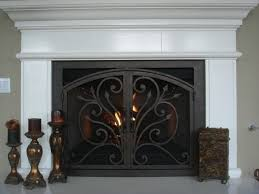 Ideas Fireplace Doors Ams Fireplace Doors Remodel Ideas Traditional Living Room