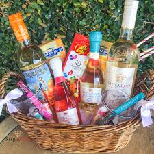 wine gift basket ideas wine gift baskets stella rosa wines sweet wines
