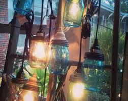 Hanging Pendant Light Kit Mason Jar Lighting Etsy
