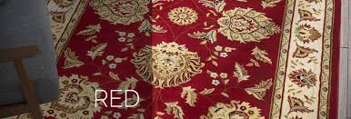 red rugs an ample range of shapes sizes designs well woven