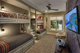 Bunk Bed For Boys 22 Cool Designs Of Bunk Beds For Four Home Design Lover