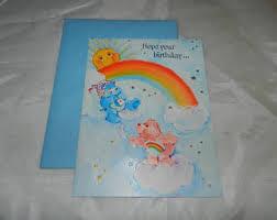 care bears card etsy