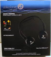 home theater headphones wireless review of the able planet ir210t wireless stereo headphones
