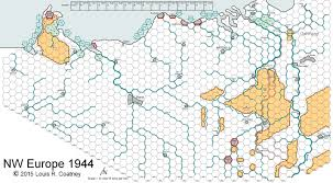 Europe Map Game by Nw Europe 1944