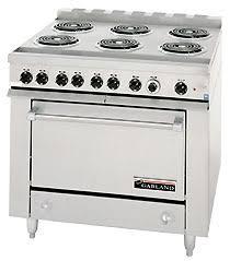 garland 36er33 six burner electric commercial oven range