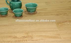 oak wooden light color laminate flooring with foam backing