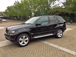 bmw x5 3 0d sport automatic face left service history 55 plate