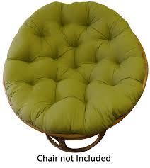 amazon com cotton craft papasan sage overstuffed chair cushion