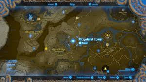 The Forest Game Map Zelda Breath Of The Wild All Sheikah Tower Locations Shacknews