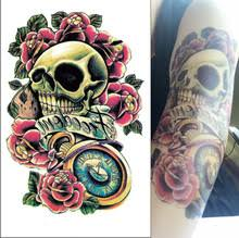 oothandel 3d skull tattoos gallerij koop goedkope 3d skull