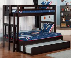Viv Rae Edd Twin Over Full Bunk Bed With Trundle  Reviews Wayfair - Twin over full bunk bed trundle