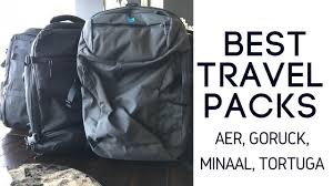 travel packs images Best travel packs aer minaal goruck tortuga comparison jpg