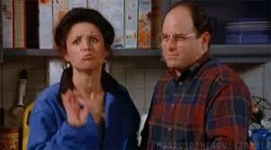 Okay Meme Gif - george elaine okay hand gesture in sarcastic seinfeld gif