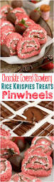rice krispie treats for thanksgiving chocolate covered strawberry rice krispies treats pinwheels mom