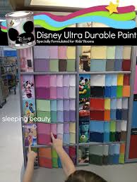 prettying up the kids room with disney paints bold home