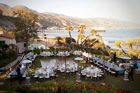 local wedding reception venues in the press style me pretty real wedding malibu hooper