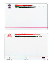 pvc cards pre printed aadhar card manufacturer from new delhi