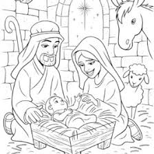 lds coloring pages baby jesus archives mente beta most complete