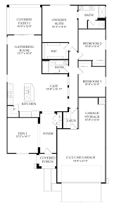 Pulte Floor Plans Creosote New Home Plan Tucson Az Pulte Homes New Home