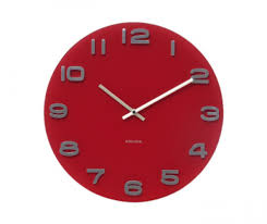 Horloge Murale Cuisine Design by Horloge Murale En Verre Au Design Simple Ehong Horloge Murale