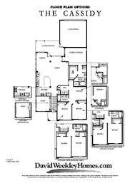 David Weekly Floor Plans David Weekley Homes Cassidy 2 007 Sq Ft Viridian David