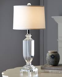 crystal table lamp modern interior design inspiration